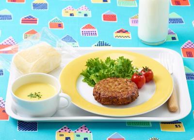 国産鶏豚サンバーグ(Fe・Ca・食物繊維)60