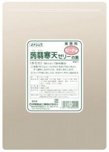 イナショク蒟蒻寒天ゼリーピーチ味