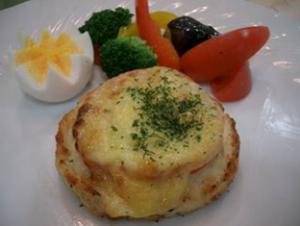 「トマトチーズ焼き」
