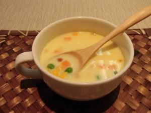 ベジタブルコーンクリームスープ