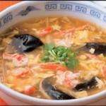 かに風味の中華スープ